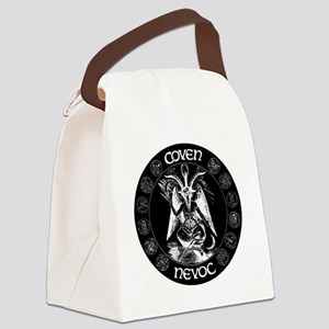 coven nevoc logo Canvas Lunch Bag