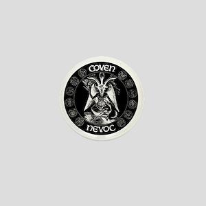 coven nevoc logo Mini Button