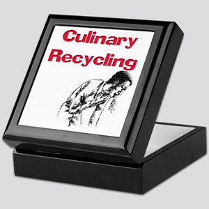 Culinary Recycling Keepsake Box