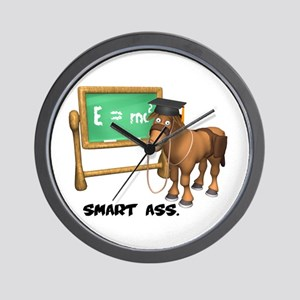 Smart Ass Donkey Wall Clock