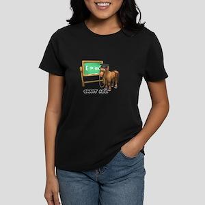 Smart Ass Donkey Women's Dark T-Shirt