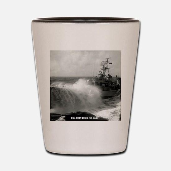 jhood framed panel print Shot Glass