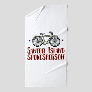 Sanibel Island Spokesperson Beach Towel