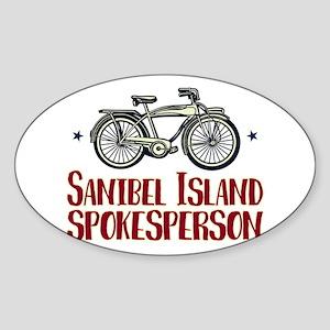 Sanibel Island Spokesperson Sticker