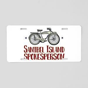 Sanibel Island Spokesperson Aluminum License Plate