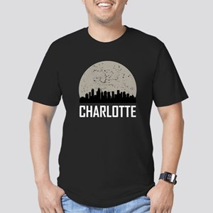 Charlotte Full Moon Skyline T-Shirt