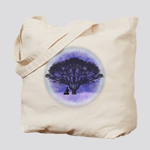 Buddha Beneath the Bodhi Tree-Light Tote Bag