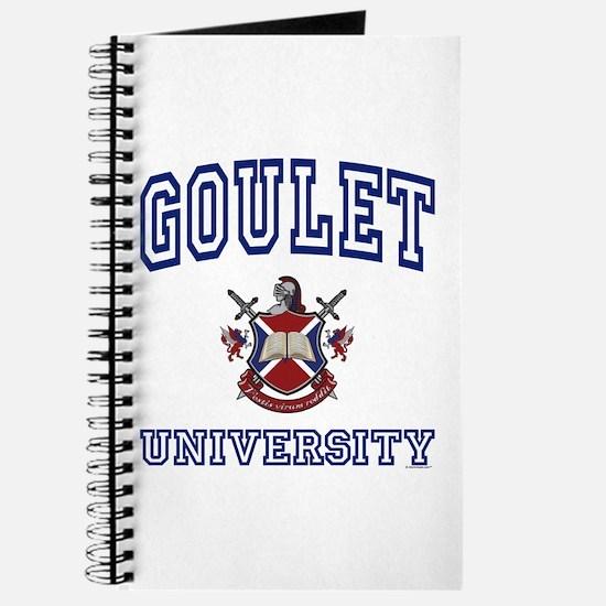 GOULET University Journal