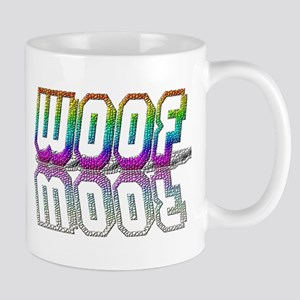 WOOF-RAINBOW/MIRROR/TILED Mug