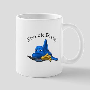 Funny Shark Bait (Bite) Design Mug