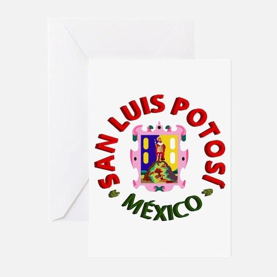 San Luis Potosí Greeting Cards (Pk of 10)