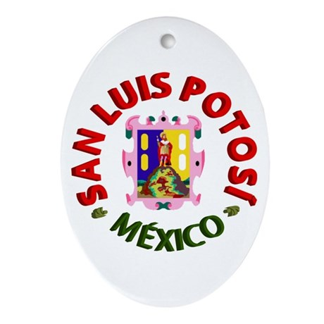 San Luis Potosí Oval Ornament