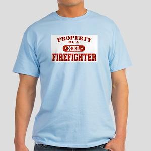 Property of a Firefighter Light T-Shirt