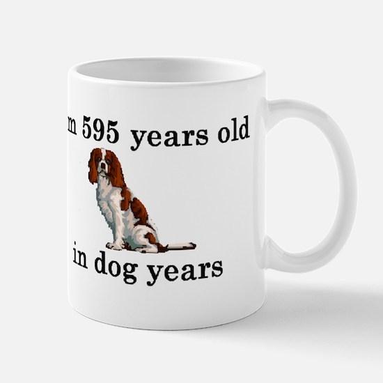 85 birthday dog years springer spaniel 2 Mugs