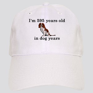 85 birthday dog years springer spaniel 2 Baseball