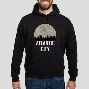 Atlantic City Full Moon Skyline Sweatshirt
