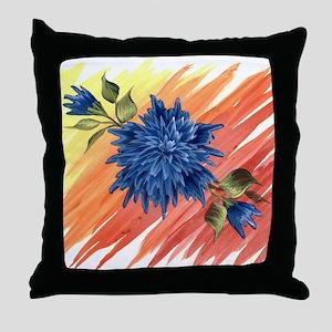 MWorld Flower Throw Pillow