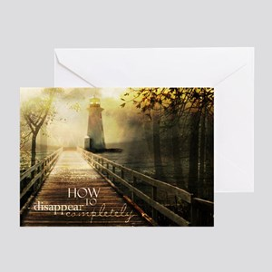 How to Disappear Completely Greeting Cards (Packag