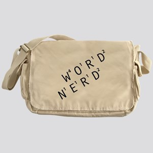 Word Nerd Messenger Bag