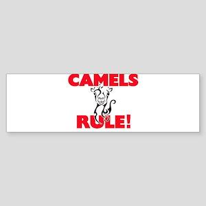 Camels Rule! Bumper Sticker