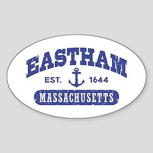 Eastham Massachusetts Sticker (Oval)