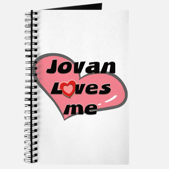 jovan loves me Journal