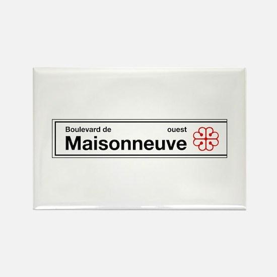 Boulevard de Maisonneuve, Montreal (CA) Rectangle