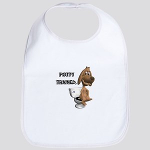 Potty Trained Puppy Dog Bib