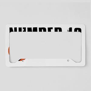19 License Plate Holder
