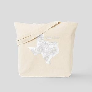 Sutherland Springs, Texas. Vintage Tote Bag