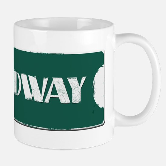 Broadway Street Sign Mug