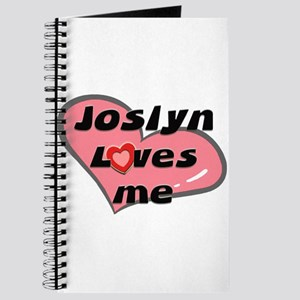 joslyn loves me Journal