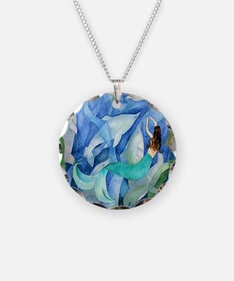 Dolphin  Mermaid Party Necklace
