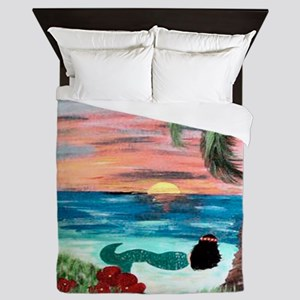 Aloha Mermaid Queen Duvet