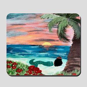 Aloha Mermaid Mousepad