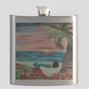 Aloha Mermaid Flask