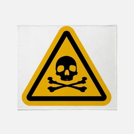 Danger! Throw Blanket