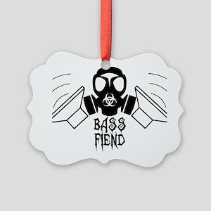 Bass Fiend Picture Ornament
