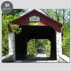 Van Sandt Covered Bridge Calendar Puzzle