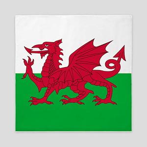 Welsh Flag Of Wales Queen Duvet