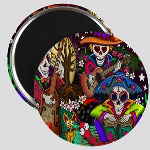 Day of the Dead Music art by Julie Oakes Magnet