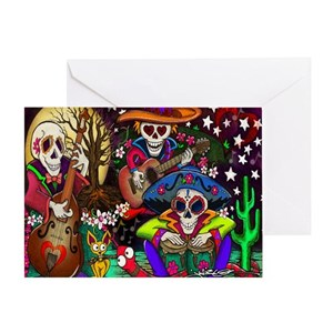 Day of the dead greeting cards cafepress m4hsunfo