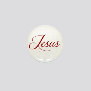 The Name of Jesus dark Mini Button
