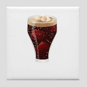 Soda dark Tile Coaster