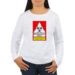 Biohazard Shirt Women's Long Sleeve T-Shirt