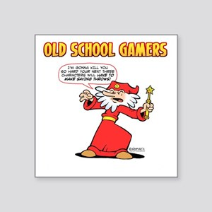 """Marvin the Mage Square Sticker 3"""" x 3"""""""