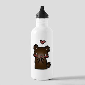 ldshadowlady bear Stainless Water Bottle 1.0L