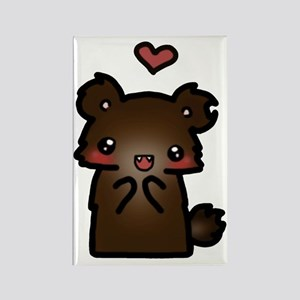 ldshadowlady bear Rectangle Magnet