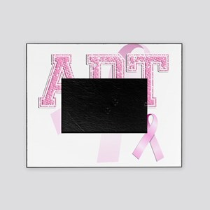 ADT initials, Pink Ribbon, Picture Frame