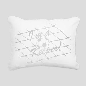 Im a Keeper 2012 SILVER Rectangular Canvas Pillow